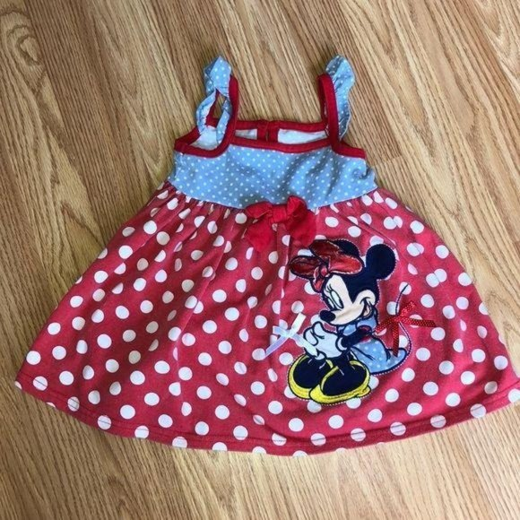 Disney Baby Minnie Mouse Dress, 12 Month